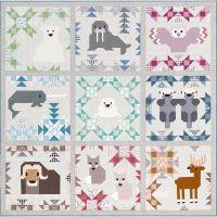 North Stars Quilt Pattern ~ Elizabeth Hartman