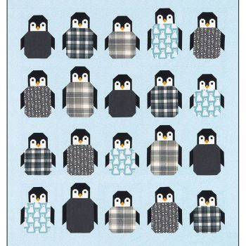 Penguin Party Quilt Pattern ~ Elizabeth Hartman