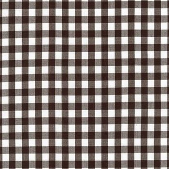 Kitchen Window Wovens Gingham ~ Robert Kaufman ~ Espresso