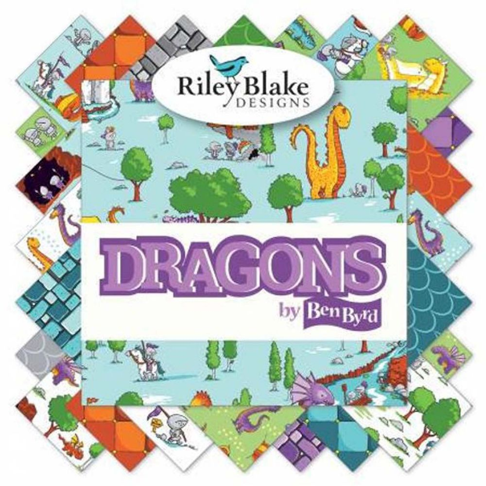 Dragons ~ Riley Blake Designs