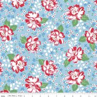 May Belle ~  Penny Rose Fabrics ~ Main ~ Blue