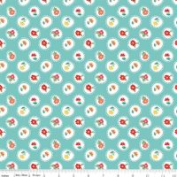 The Handpicked Collection ~ Riley Blake Designs ~ Posie ~ Aqua