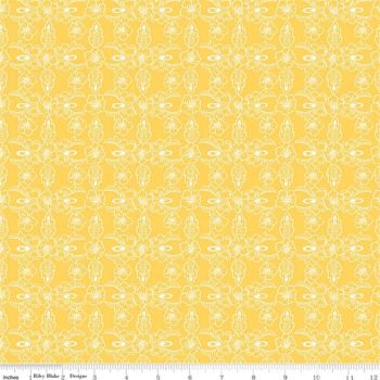 The Handpicked Collection ~ Riley Blake Designs ~ Violet ~ Yellow