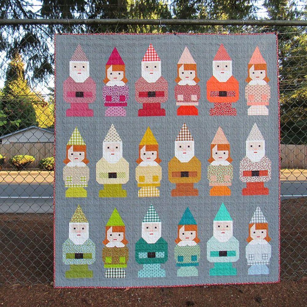 Norm & Nanette Quilt Pattern ~ Elizabeth Hartman