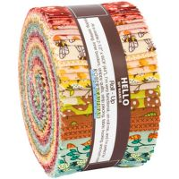Berry Season ~ Elizabeth Hartman ~ Robert Kaufman ~ Roll Up  (2 1/2 Strips Jelly Roll)