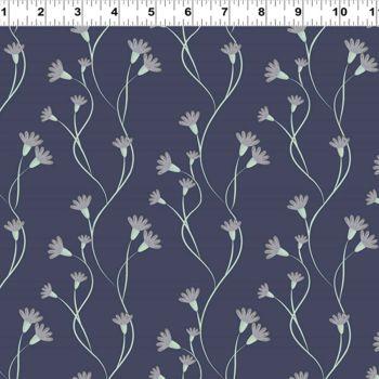 Secret Garden ~ Clothworks  ~ Flower on Stem