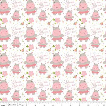 Sweet Baby Girl 2 ~ Riley Blake Designs ~ Hippos
