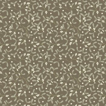 Winter in Bluebell Wood ~ Lewis and Irene ~ Mistletoe ~ Dark Taupe