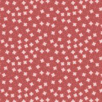 Michaelmas ~ Lewis and Irene  ~ Small Floral ~ Soft Red
