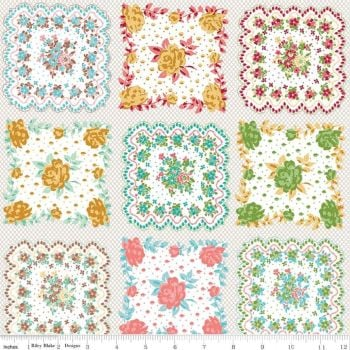 Granny Chic ~ Lori Holt ~ Riley Blake Designs ~ Handkerchief