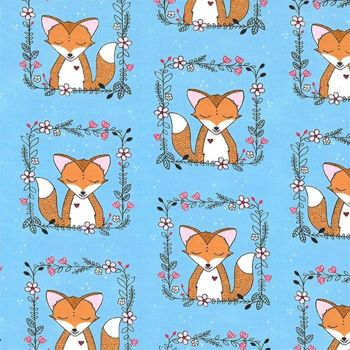 Curiosity ~ Michael Miller Fabrics ~ Fox Frames