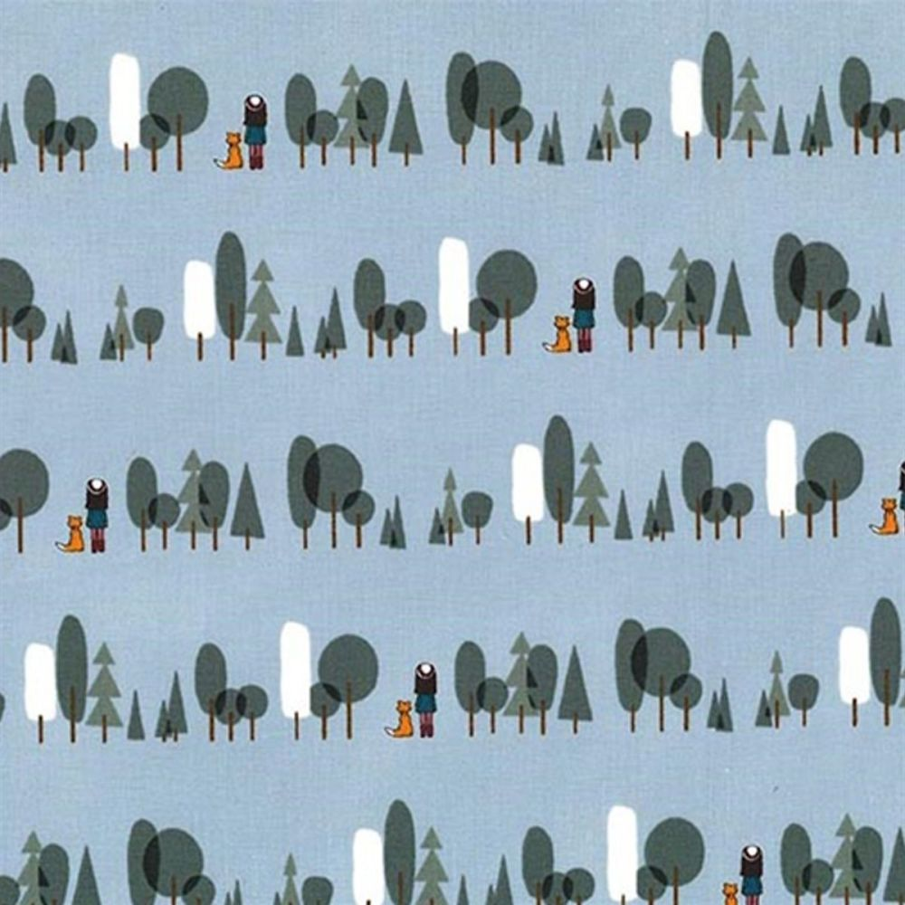 Curiosity ~ Michael Miller Fabrics ~ Trees