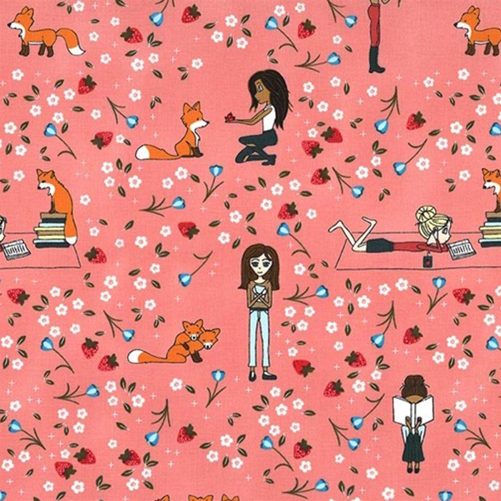 Curiosity ~ Michael Miller Fabrics ~ Reading Stories