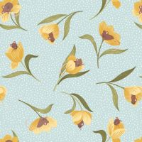 Tulip Fields ~ Lewis and Irene ~ Sleeping Mouse in a Tulip ~ Pale Blue