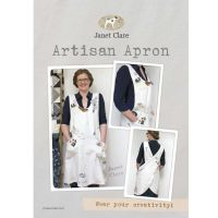 Artisan Apron ~ Janet Clare ~ Adult Size
