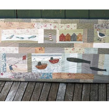 Down Beside the Seaside Quilt Pattern ~ Janet Clare
