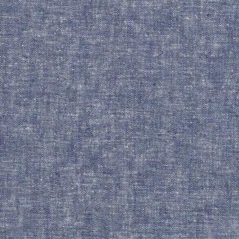 Essex Yarn Dyed ~ E064-1452 ~  Linen 55% Cotton 45% ~ Robert Kaufman ~ Denim