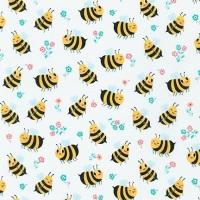 Bees Knees ~ Andie Hanna ~ Robert Kaufman ~ Bumble Bee