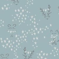 Little Town ~ Amy Sinibaldi ~ Art Gallery Fabrics ~ Starbright Fog