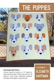 The Puppies Quilt Pattern ~ Elizabeth Hartman