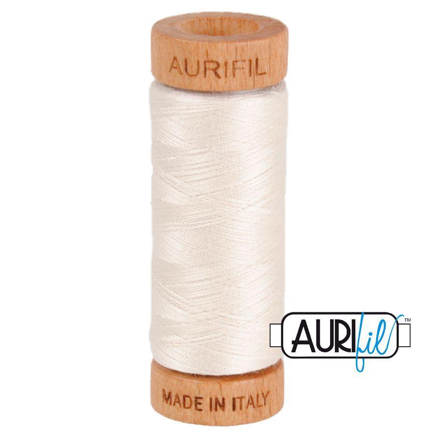 Aurifil ~ 80wt ~ 280metres ~ 2311 ~ Muslin