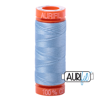 Aurifil ~ 50wt ~ 200 metres ~ 2715 ~ Robins Egg
