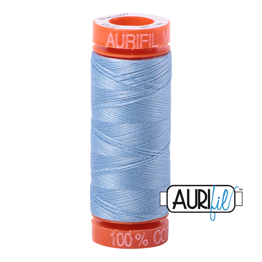 Aurifil ~ 50wt ~ 200metres ~ 2715 ~ Robins Egg