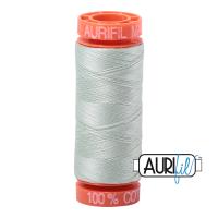Aurifil ~ 50wt ~ 200 metres ~ 2912 ~ Platinum