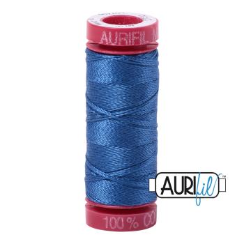 Aurifil ~ 12wt ~ 50 metres ~ 2730 ~ Delft Blue