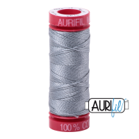 Aurifil ~ 12wt ~ 50 metres ~ 2610 ~ Light Blue Grey