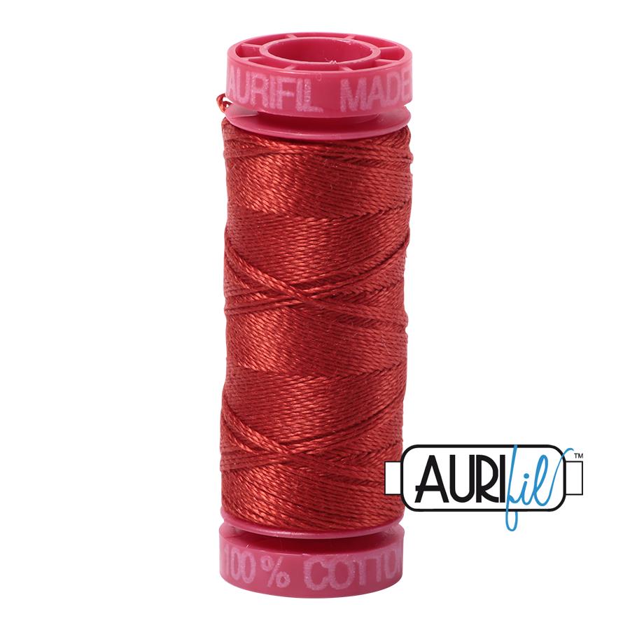 Aurifil ~ 12wt ~ 50 metres ~ 2395 ~ Pumpkin Spice