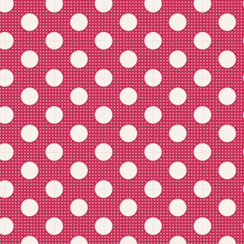 Tilda  ~ Basics ~ Medium Dots ~ Red