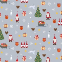Tomten's Christmas ~ Lewis and Irene ~ Fun ~ Grey