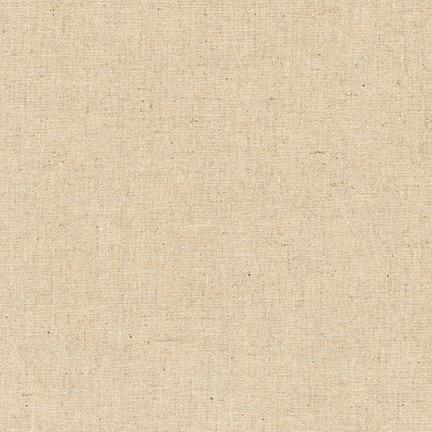 Essex   Linen 55% Cotton 45% ~ Robert Kaufman ~ Natural