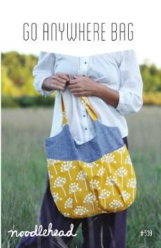 Go Anywhere Bag Pattern ~ Noodlehead