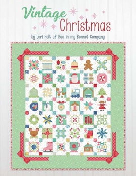 Vintage Christmas ~ Lori Holt ~ Quilt Book  ~