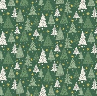 A Festive Collection ~ Liberty of London ~ Noel Forest ~ Green