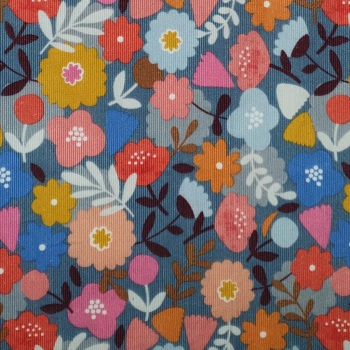 Meadow Safari ~ Cord ~ Dashwood Studio ~ Floral ~ (150cm wide)