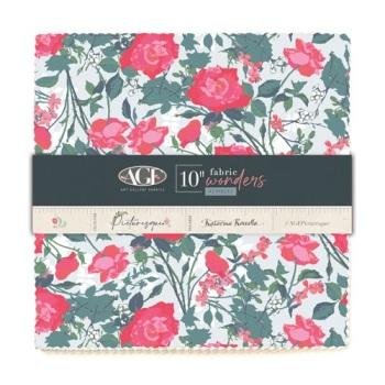 Picturesque ~  Fabric Wonders  Pre Cuts ~ 25cm x 25cm (10 x 10 inch) Squares 42 Pieces.