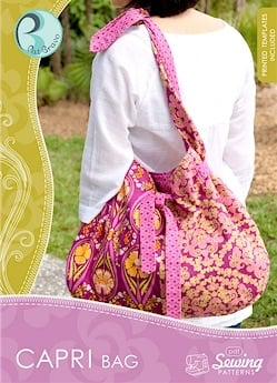 Capri Bag CD/Pattern ~ Art Gallery Fabrics