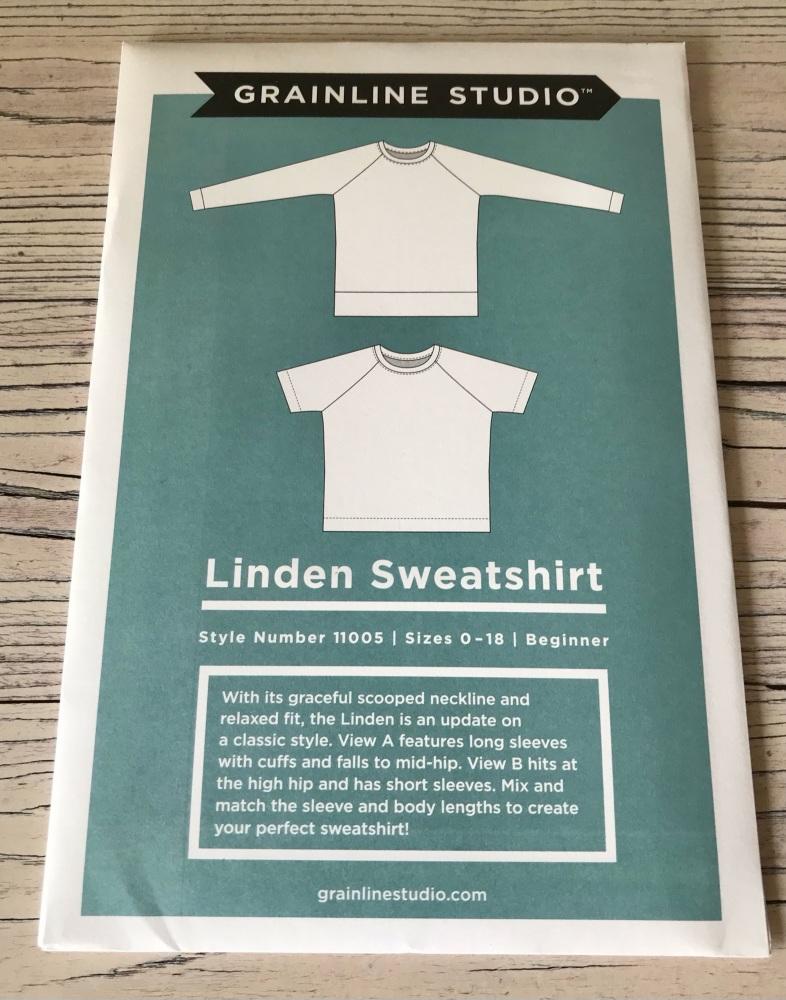 Linden Sweatshirt ~ Grainline Studio