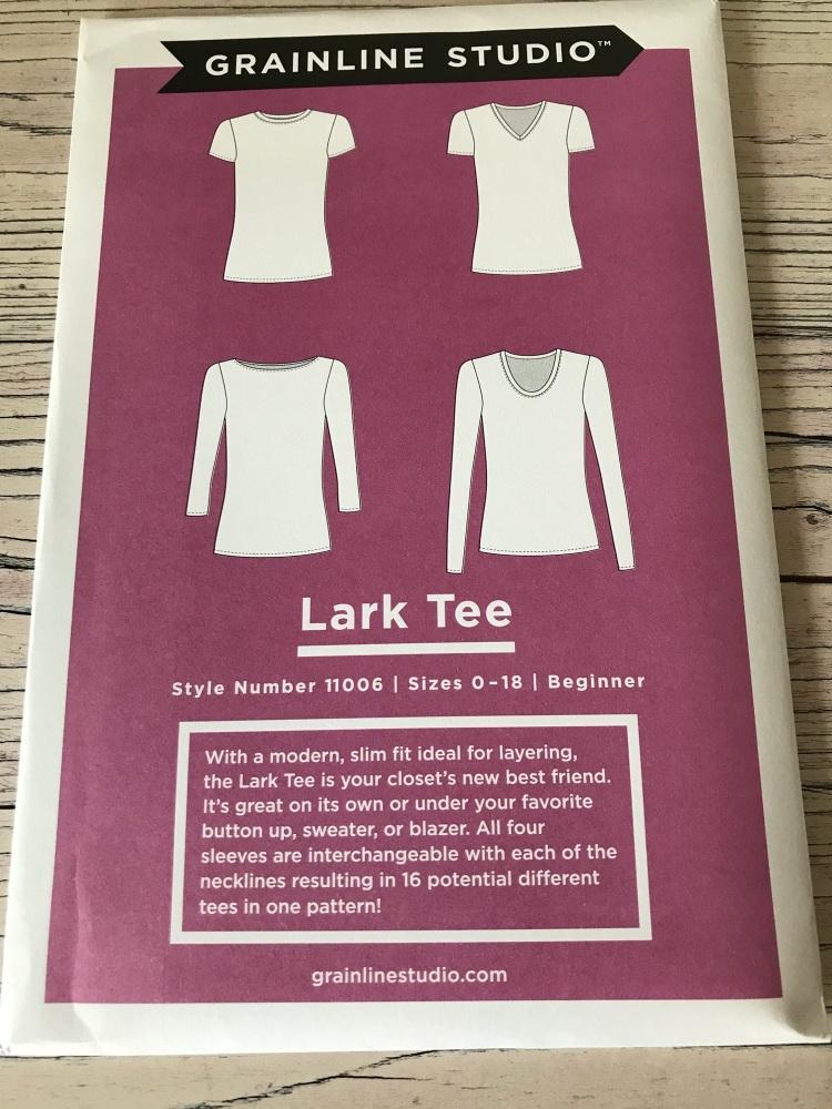 Lark Tee Pattern ~ Grainline Studio