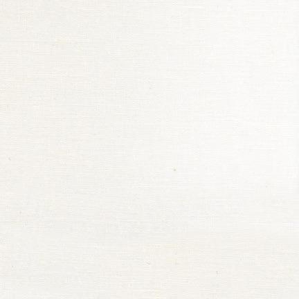 Essex   Linen 55% Cotton 45% ~ Robert Kaufman ~ White