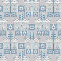Deco Dance ~ Liberty of London ~ Nouveau Poppy A