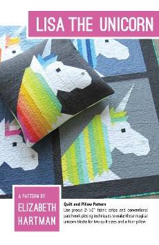 Lisa The Unicorn ~ Elizabeth Hartman ~ Quilt Pattern