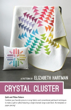 Crystal Cluster ~ Elizabeth Hartman ~ Quilt Pattern