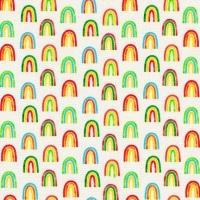 Chilli Smiles ~ Ann Kelle ~ Robert Kaufman ~ Rainbows ~ Ivory