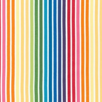 Remix ~ Robert Kaufman ~ Stripes ~ Bright