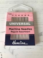 Hemline  Sewing Machine  ~ Universal Needles ~ Regular Assortment