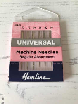 Hemline  Sewing Machine  ~ Universal Needles ~ Regular Assortment